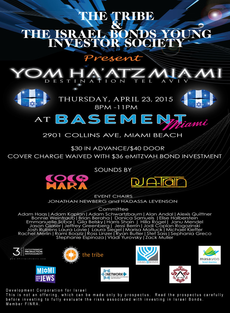Yom Ha'atz Miami: Destination Tel Aviv
