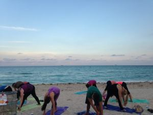 Hamstrings, Havdalah, and Happy Hour @ 53rd Street Park (on the Beach) | Miami Beach | Florida | United States