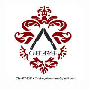 Chef Aryeh Label stickers