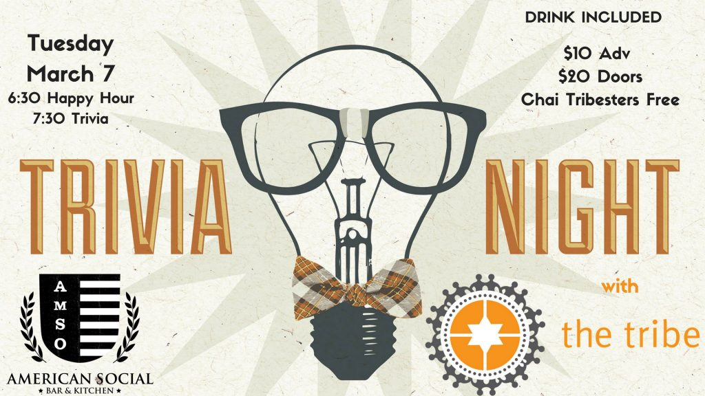 Trivia Night with The Tribe: March 2017 @ American Social Brickell | Miami | Florida | United States
